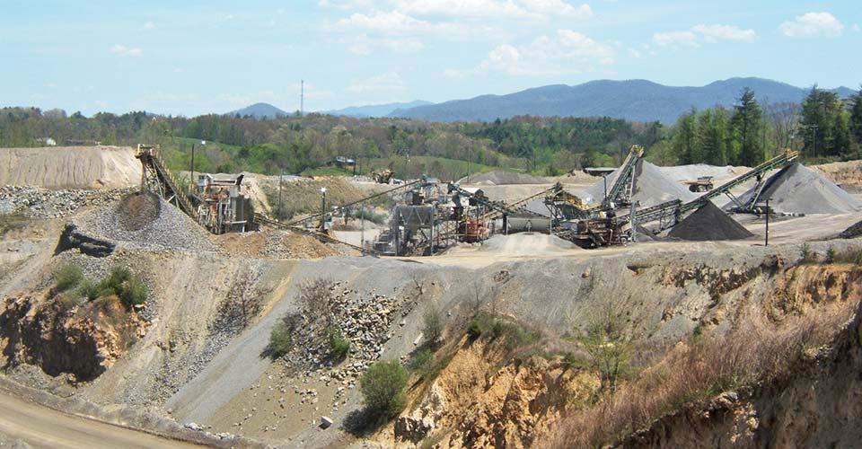 North Buncombe Quarry Asheville Nc Hedrick Industries