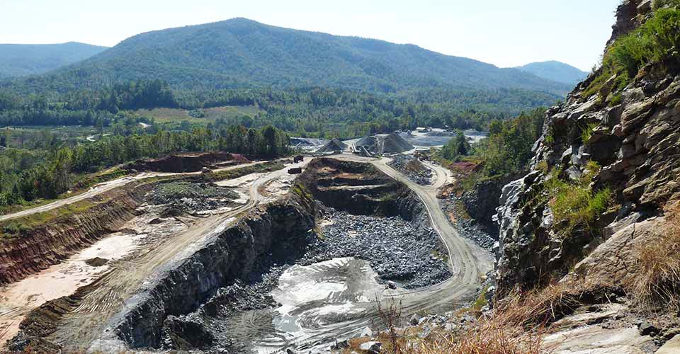South Mcdowell Quarry Marion Nc Hedrick Industries