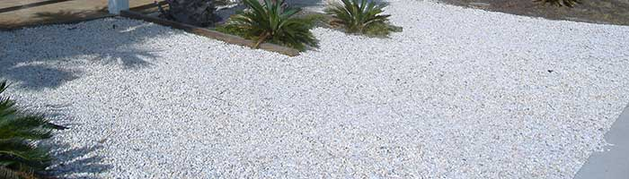 White Crushed Stone : Crushed rock gravel sand and stone products hedrick